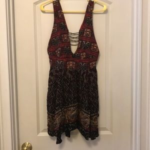 Free People Patterned Summer Dress